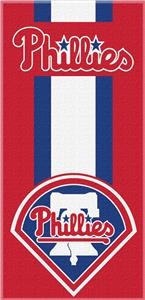 Northwest MLB Phillies Zone Read Beach Towel