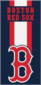 Northwest MLB Red Sox Zone Read Beach Towel
