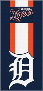 Northwest MLB Tigers Zone Read Beach Towel