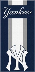 Northwest MLB Yankees Zone Read Beach Towel