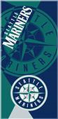 Northwest MLB Mariners Puzzle Beach Towel