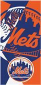 Northwest MLB Mets Puzzle Beach Towel