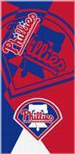 Northwest MLB Phillies Puzzle Beach Towel