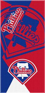 Northwest MLB Phillies Puzzle Beach Towel