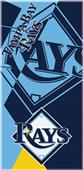 Northwest MLB Rays Puzzle Beach Towel