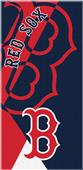 Northwest MLB Red Sox Puzzle Beach Towel