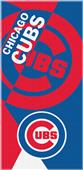 Northwest MLB Cubs Puzzle Beach Towel