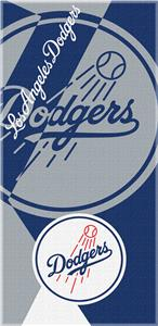 Northwest MLB Dodgers Puzzle Beach Towel
