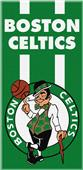 Northwest NBA Celtics Zone Read Beach Towel