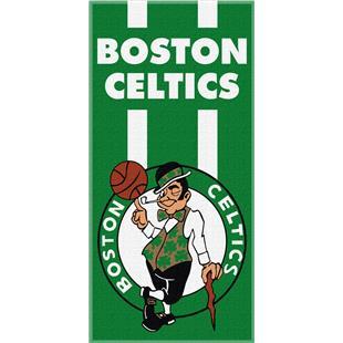 Northwest NBA Celtics Zone Read Beach Towel