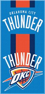 Northwest NBA Thunder Zone Read Beach Towel