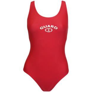 Adoretex Women Lifeguard Fit Back Swimsuit w/Cup