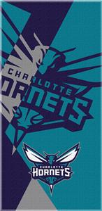 Northwest NBA Hornets Puzzle Beach Towel