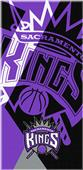 Northwest NBA Kings Puzzle Beach Towel