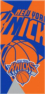 Northwest NBA Knicks Puzzle Beach Towel