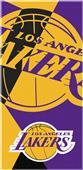 Northwest NBA Lakers Puzzle Beach Towel