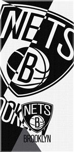 Northwest NBA Nets Puzzle Beach Towel