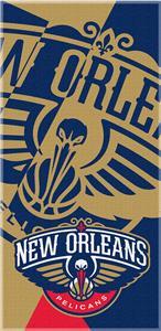 Northwest NBA Pelicans Puzzle Beach Towel