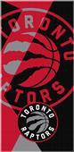 Northwest NBA Raptors Puzzle Beach Towel