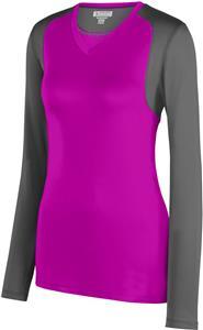 Augusta Ladies Astonish Long Sleeve Jersey