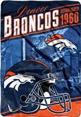 Northwest NFL Broncos Stagger Oversized Throw