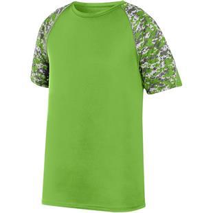 Augusta Sportswear Color Block Digi Camo Jersey