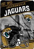 Northwest NFL Jaguars Stagger Oversized Throw