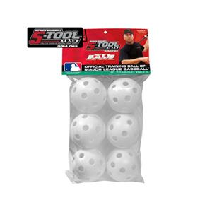 "Rawlings 5-Tool Plastic 9"" Baseball Training Balls"