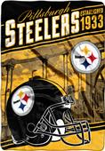 Northwest NFL Steelers Stagger Oversized Throw