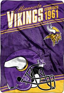 Northwest NFL Vikings Stagger Oversized Throw