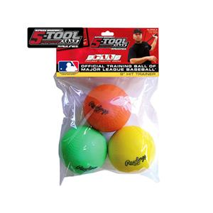 Rawlings Hit Trainer Baseball Training Balls-3pc