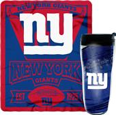 Northwest NFL NY Giants Mug N' Snug Set