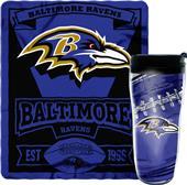 Northwest NFL Ravens Mug N' Snug Set