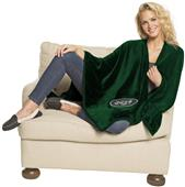 Northwest NFL Jets Silk Touch Throw Wrap