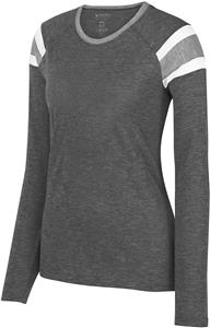 Augusta Sportswear Ladies Long Sleeve Fanatic Tee