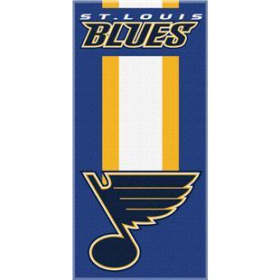 Northwest NHL Blues Zone Read Beach Towel