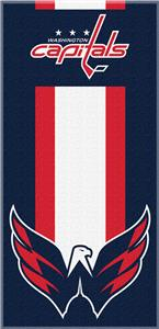 Northwest NHL Capitals Zone Read Beach Towel