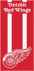 Northwest NHL Red Wings Zone Read Beach Towel