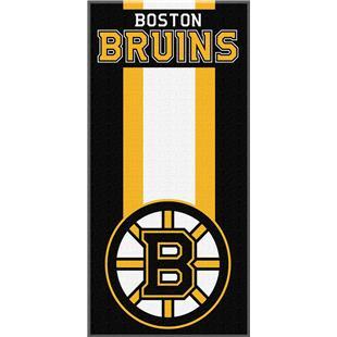 Northwest NHL Bruins Zone Read Beach Towel