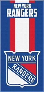 Northwest NHL Rangers Zone Read Beach Towel