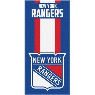 Northwest NHL Rangers Zone Read Beach Towel