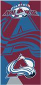 Northwest NHL Avalanche Puzzle Beach Towel