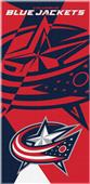 Northwest NHL Blue Jackets Puzzle Beach Towel