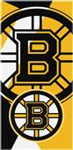 Northwest NHL Bruins Puzzle Beach Towel