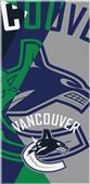 Northwest NHL Canucks Puzzle Beach Towel