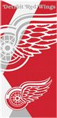 Northwest NHL Red Wings Puzzle Beach Towel