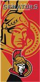 Northwest NHL Senators Puzzle Beach Towel