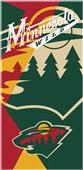 Northwest NHL Wild Puzzle Beach Towel