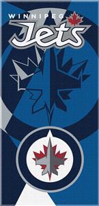 Northwest NHL Winnipeg Jets Puzzle Beach Towel
