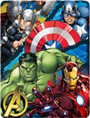 Northwest Marvel Avenger Defend Earth Fleece Throw